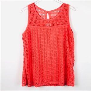 Le Rouge Crochet Tank Top